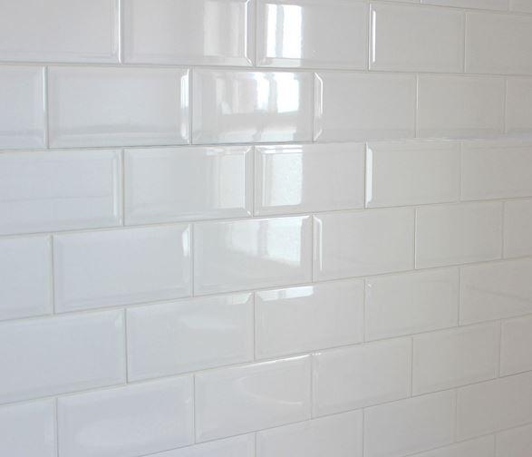 Metro White 10x20 Πλακάκι Τοίχου Τουβλάκι Λευκό - Άσπρο