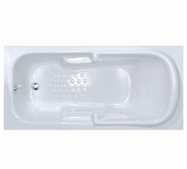 Sanitec Pauline 170x80 Μπανιέρα Ακρυλική 527