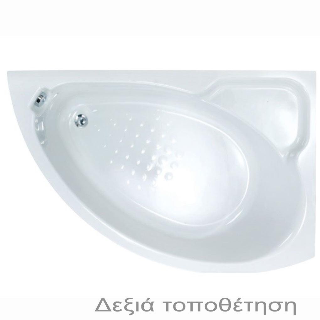 SANITEC 140x90 LYDIA ΜΕ ΥΔΡΟΜΑΣΑΖ ΜΠΑΝΙΕΡΑ 541