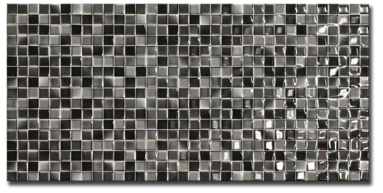 Andros-Trend Negro 25x50 Πλακάκι Τοίχου Κουζίνας / Λουτρού (I)