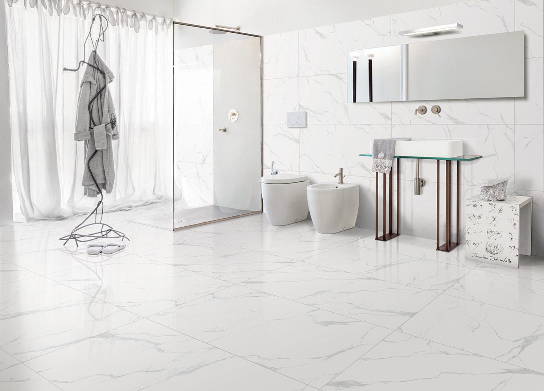 Classic Carrara Vento 60x120 Rettificato Γυαλιστερό Γρανίτης Πλακάκι Δαπέδου - Τοίχου N