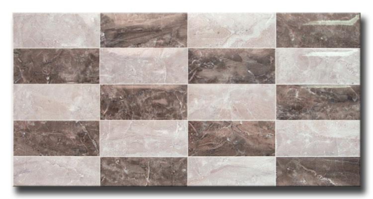 Everest Relieve 25x50 Πλακάκι Μπάνιου γυαλιστερό
